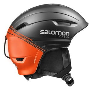 Narciarska kask Salomon CRUISER 4D² Black/Orange 390350, Salomon